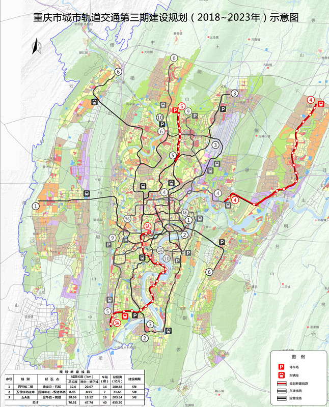 重庆轨道交通规划图 2020最新