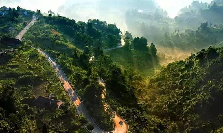重庆周边六条自驾路线 总有一条让你心动