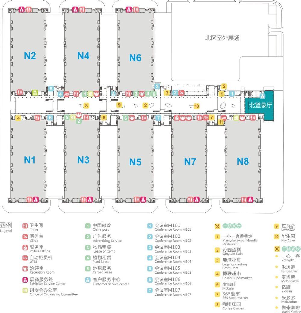 2019重庆西洽会展区一览(位置、展区特色)