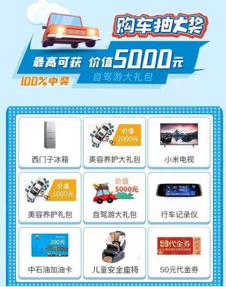 2019重庆国际车展现场福利活动