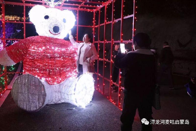 2018长沙浔龙河樱花灯展正式对外开放