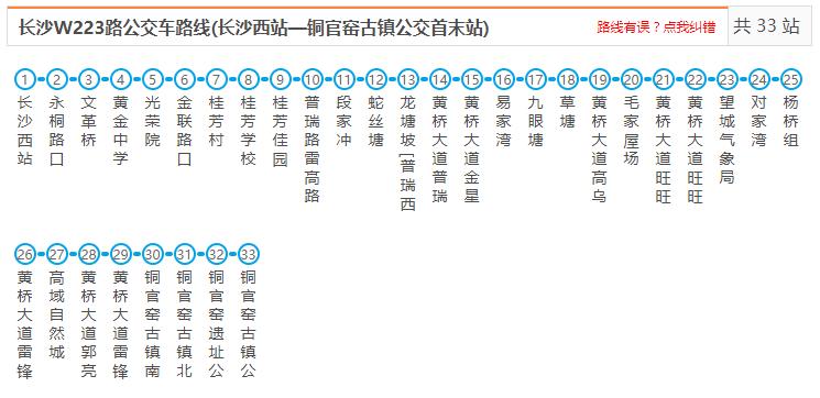 长沙新华联铜官窑古镇公交线路(汇总)