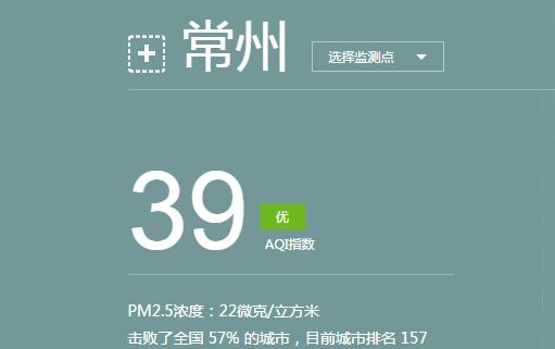 常州天气预报(8.3)