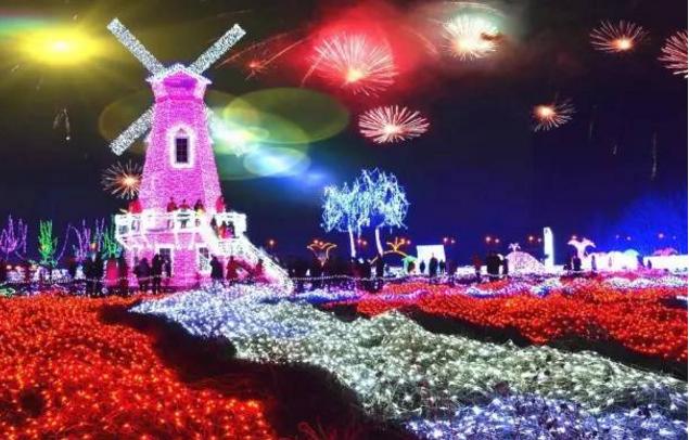 2018小榄荼薇园大型迎春灯会(时间+地点+门票)