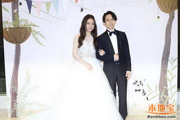 林宥嘉婚礼亲吻丁文琪 发表霸气护妻宣言