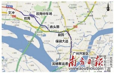 广州地铁五号线东延段将对接东莞一号线图片