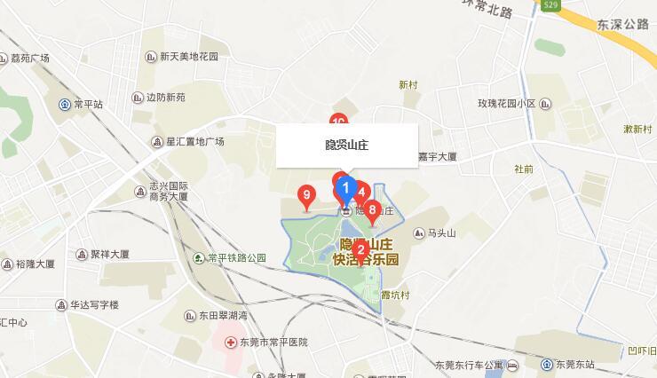 东莞隐贤山庄怎么去(交通指南+详细地址)