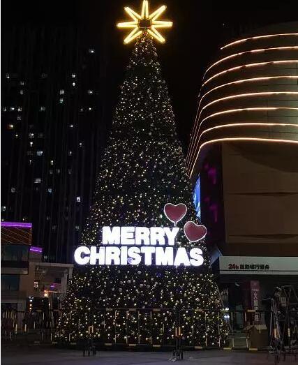 2017大连圣诞节广场好看的圣诞树汇总