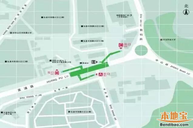 大连地铁1号线二期试运行在即 10个出口站点公布图片