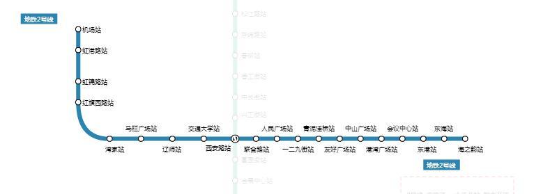 2017大连地铁2号线最新消息(线路图+时刻表+站点+票价)