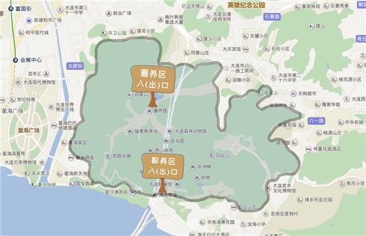 大连森林动物园游玩攻略(线路图+门票+交通指南)