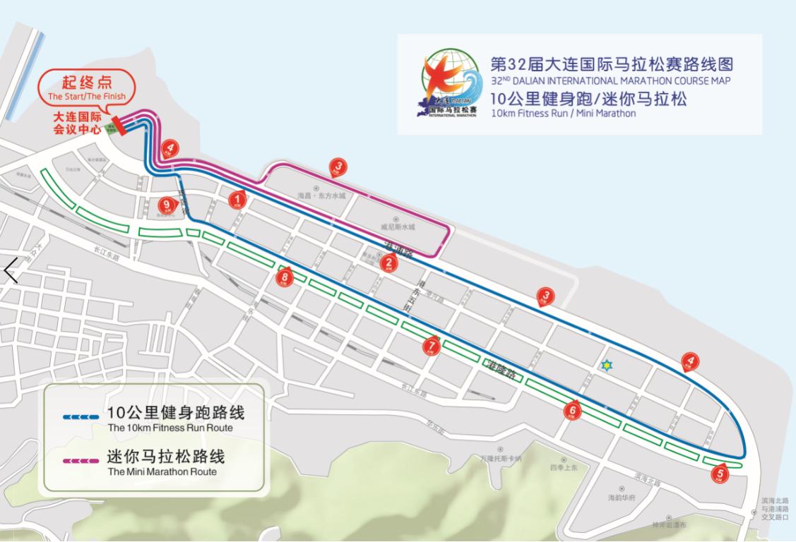 2019大连国际马拉松全指南(比赛线路+比赛时