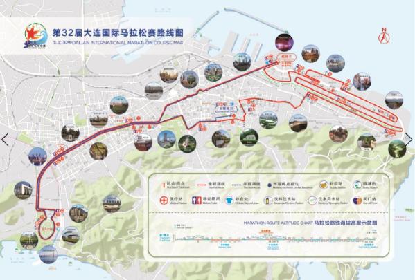 2019大连马拉松将于5月12日举行 部分道路进行交通管制