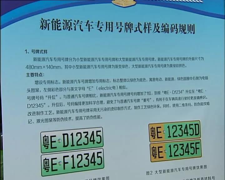 2017年底佛山新能源汽车专用车牌号启用