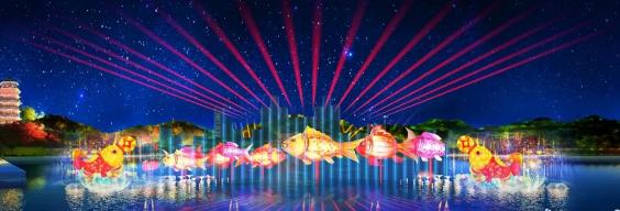 佛山春节灯光秀表演时间汇总