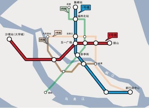 福州地铁规划_福州地铁规划7条增至9条增加闽侯、鳌峰洲方
