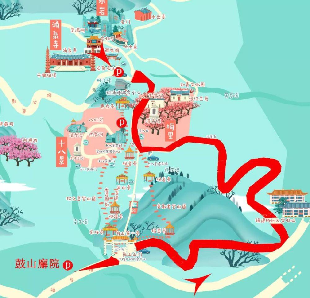 福州鼓岭旅游度假区开通2条旅游专线