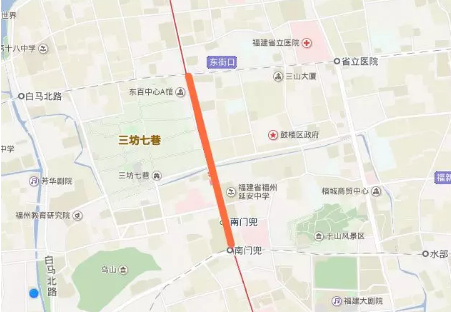 2018福州东街口元宵灯光秀交通指南(公交+地铁)