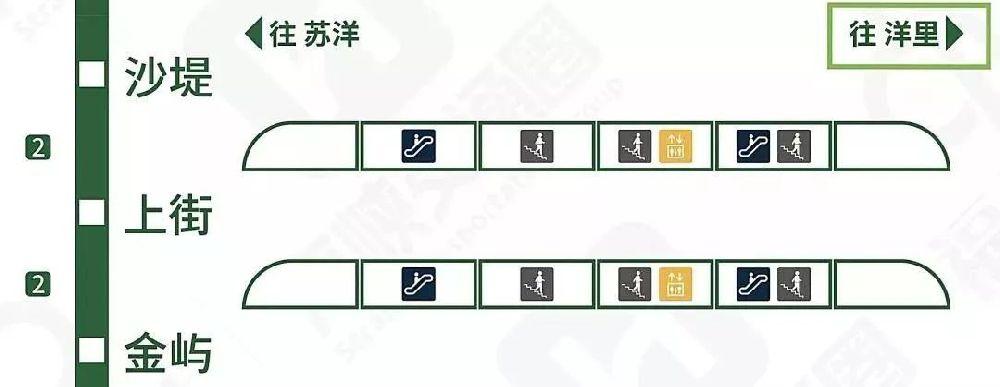 福州2号线快速出站指南