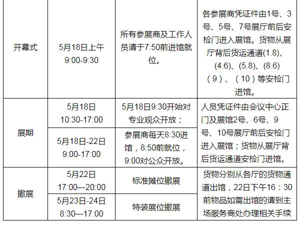 2019福州518海丝博览会暨海交会时间、地点及日程安排