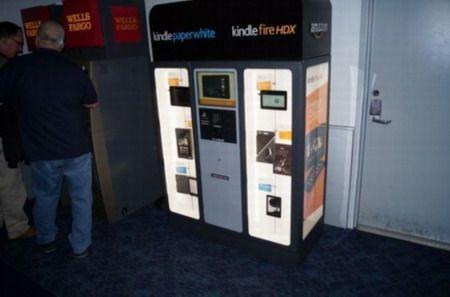 亚马逊试水实体零售 推出Kindle自动售货机