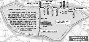 海珠环岛有轨电车线路站点一览
