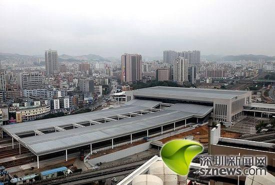 深圳东站21日启动 首趟开往天津方向