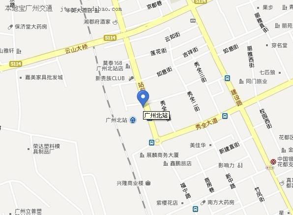 州北站在哪_广州北站在哪 广州火车站北站地址