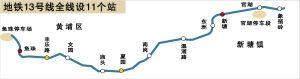 2013广州地铁13号线最新消息:预计2017年底开通