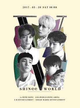 "SHINee CONCERT ""SHINee WORLD V"" in HONG KONG"