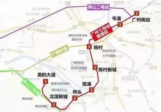2017广州地铁7号线西延广州段建设意见稿公布 邀你提意见图片