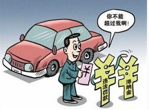 2017广州交通罚款滞纳金怎么算?滞纳金上限是多少?