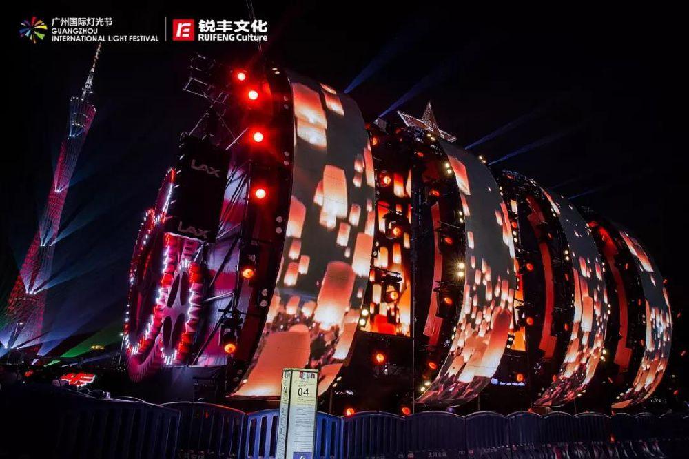 2018广州灯光节12月4日闭幕