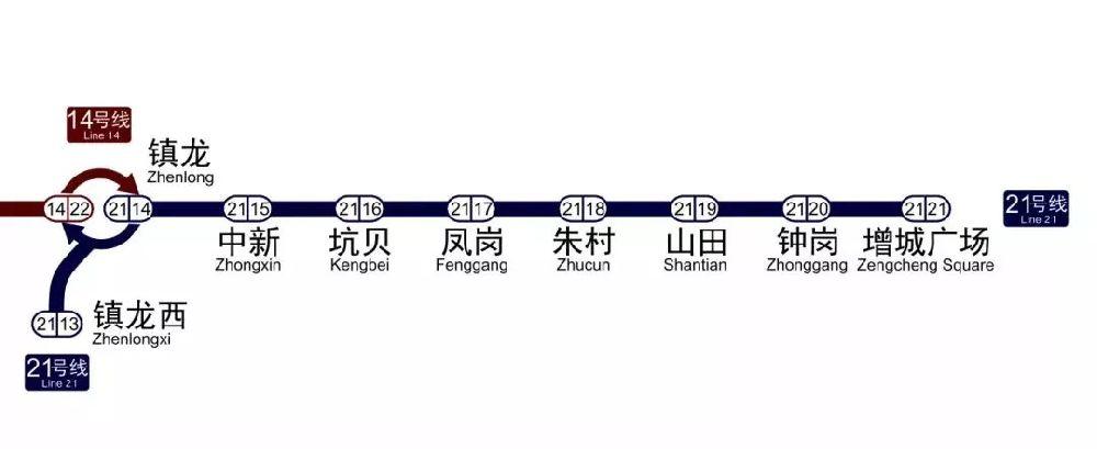 2018年12月28日广州地铁3条新线(附线路图)