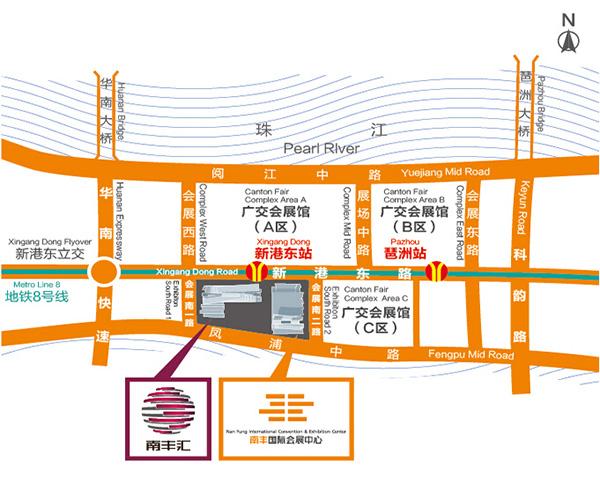 广州车展交通路线指引