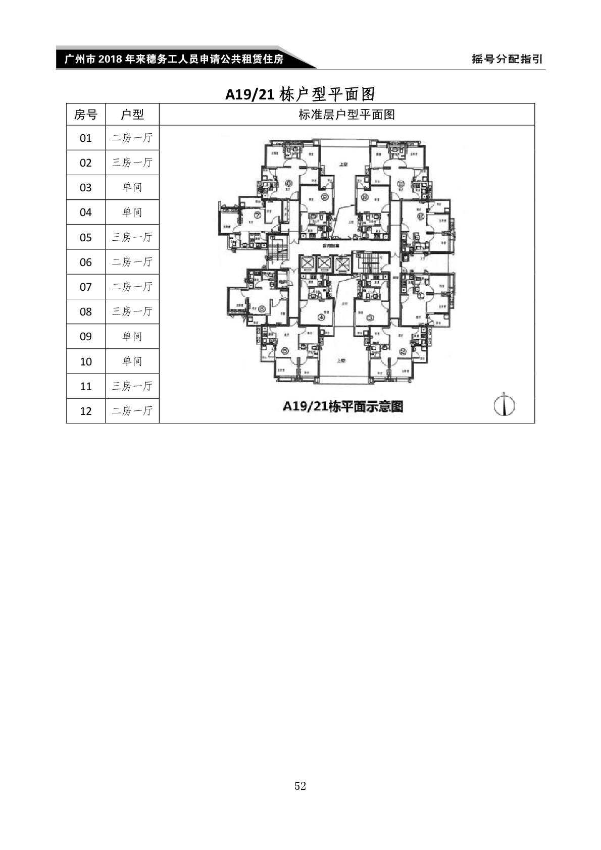 2018广州金御苑外地人公租房户型图(3)