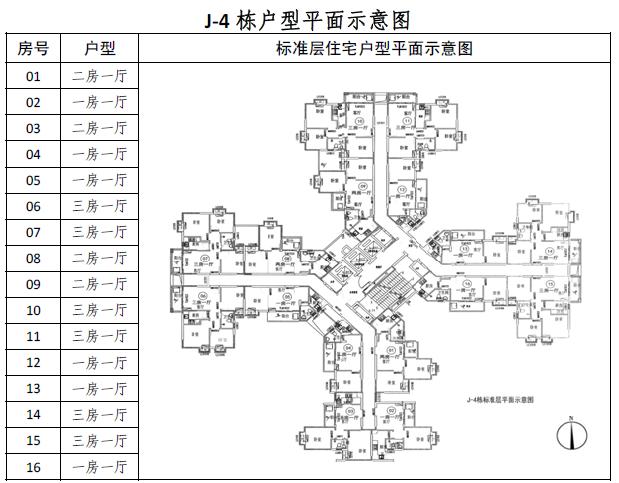 2018广州南悦花苑公租房户型图(1)