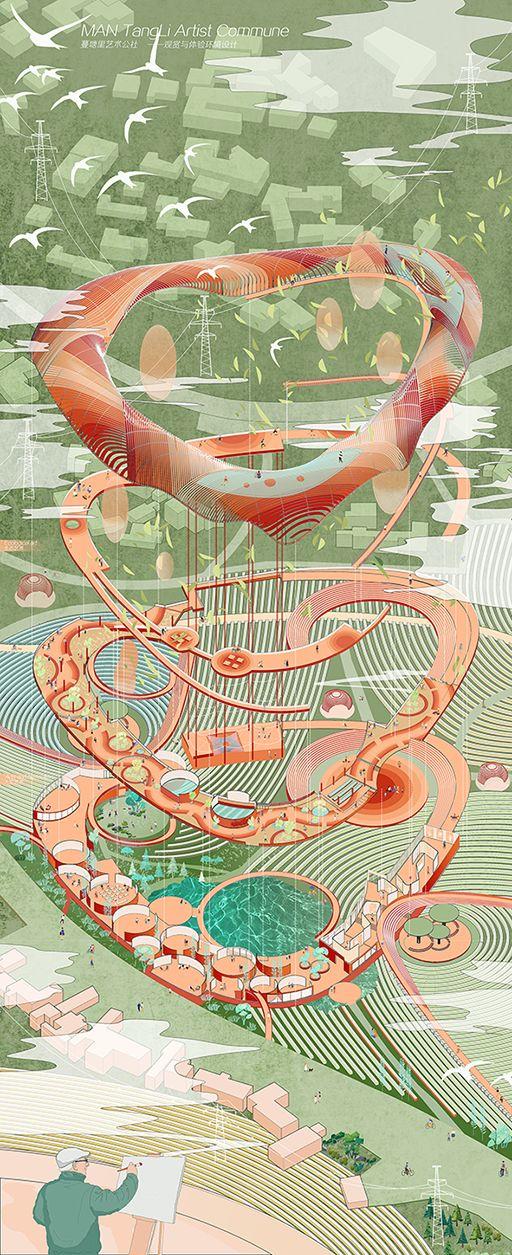 2019广州美术学院毕业展建筑艺术设计学院作品欣赏