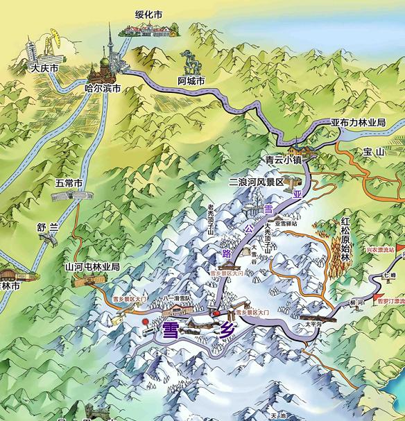 2018哈尔滨至雪乡旅游攻略(开园时间、景点推荐、交通)