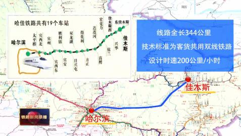 哈佳高鐵最遲8月底開通(站點、時長、沿途旅游攻略)