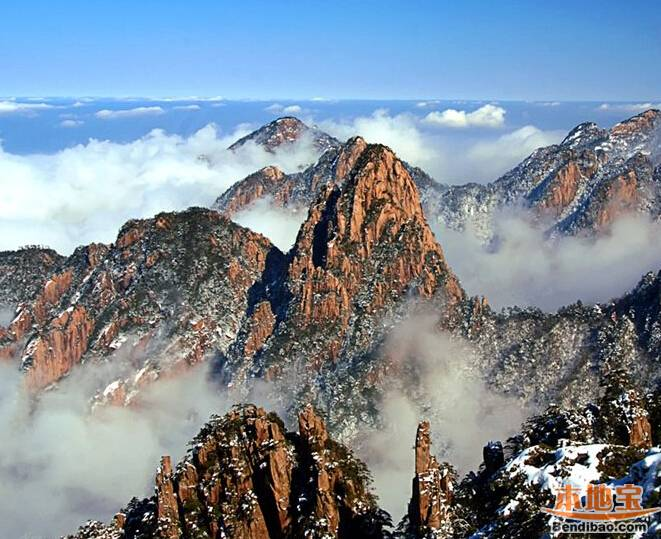 合肥人冬季蜜月旅行地推荐:安徽黄山