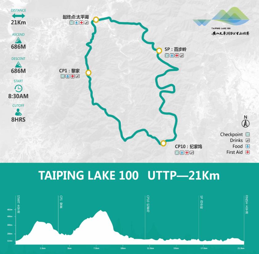 2019黄山太平湖百公里山径赛