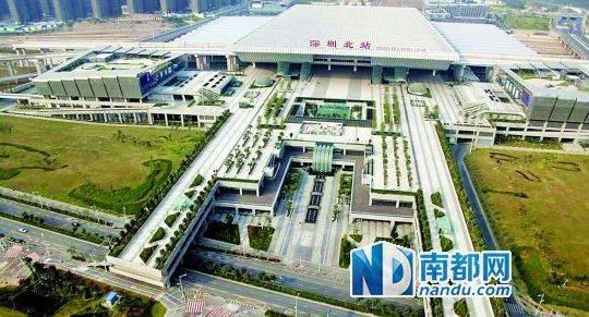 深圳北站建摩天大楼