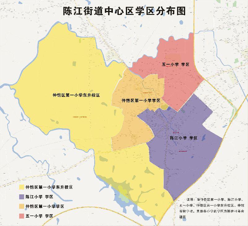 2018惠州仲恺公办学校学区划分范围(图文版)