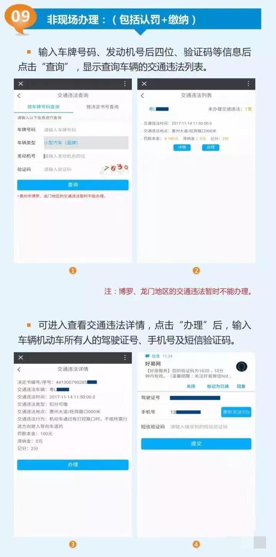 惠州车主们如何在微信上交罚单?