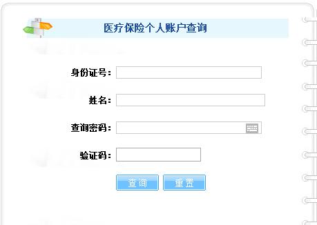 衡阳市个人医疗保险查询