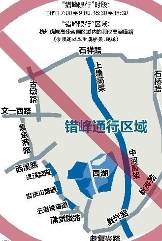 杭州外地车限行规定2014