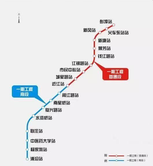 杭州地铁4号线线路图