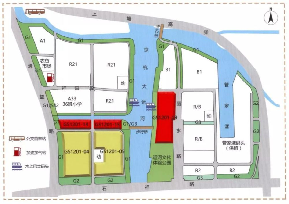 运河湾区域宅地首次地块出让(楼面价 地址位置)