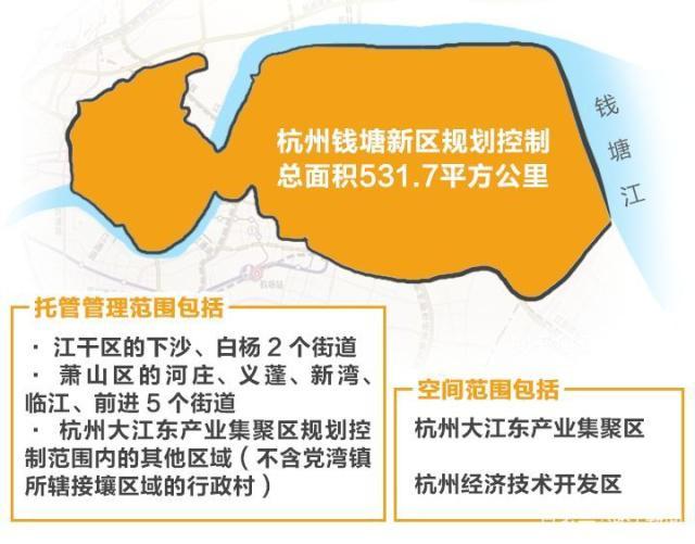 杭州钱塘新区地图